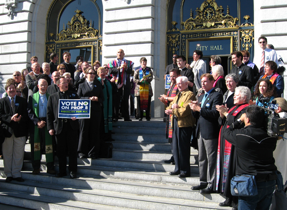 Multi-faith leaders urge support for the freedom to marry